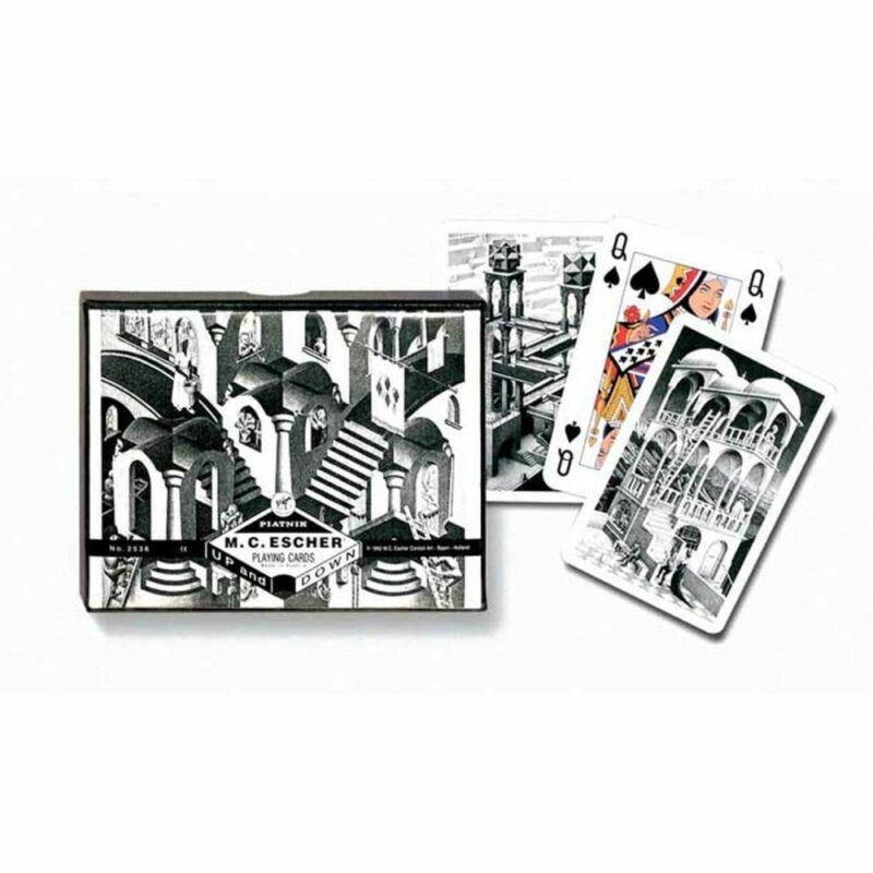 Escher-Up Down 2x55 lapos römi kártya
