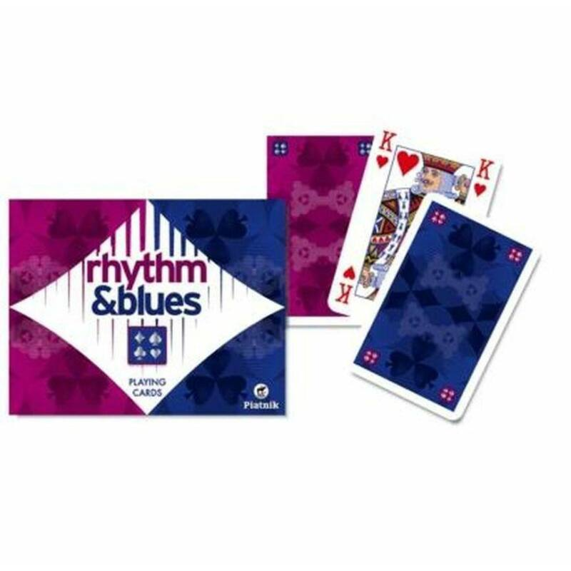 Rhythm Blues 2x55 lapos römi kártya