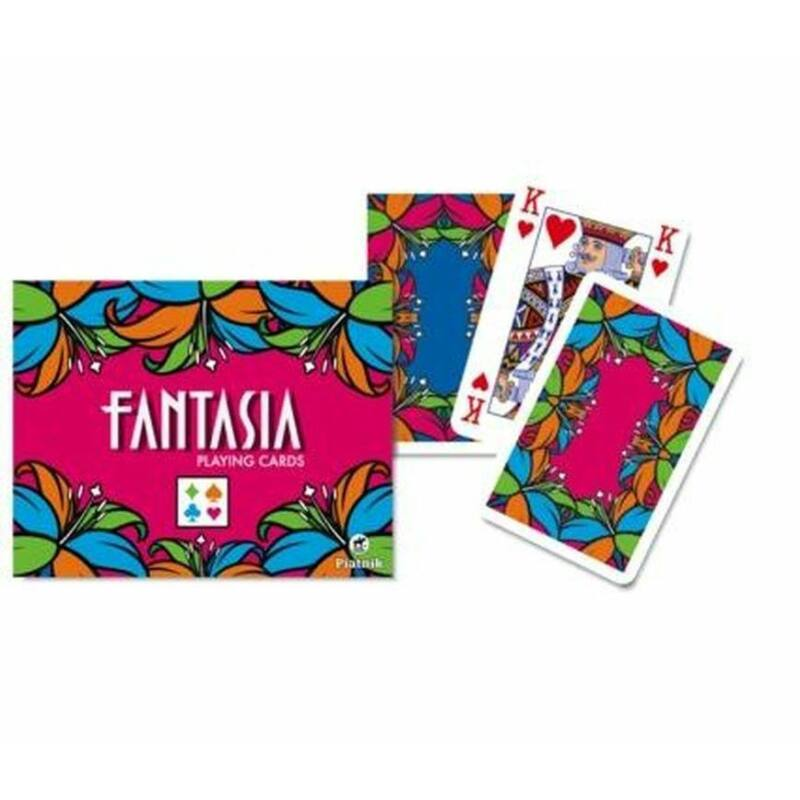 Fantasia 2x55 lapos römi kártya