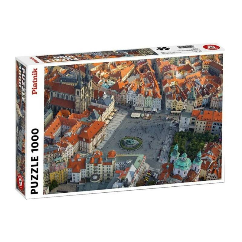 Prága légifelvétel 1000 db-os puzzle - Piatnik