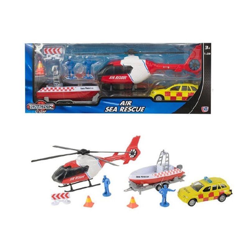 HTI Teamsterz légi és tengerimentő játékszett