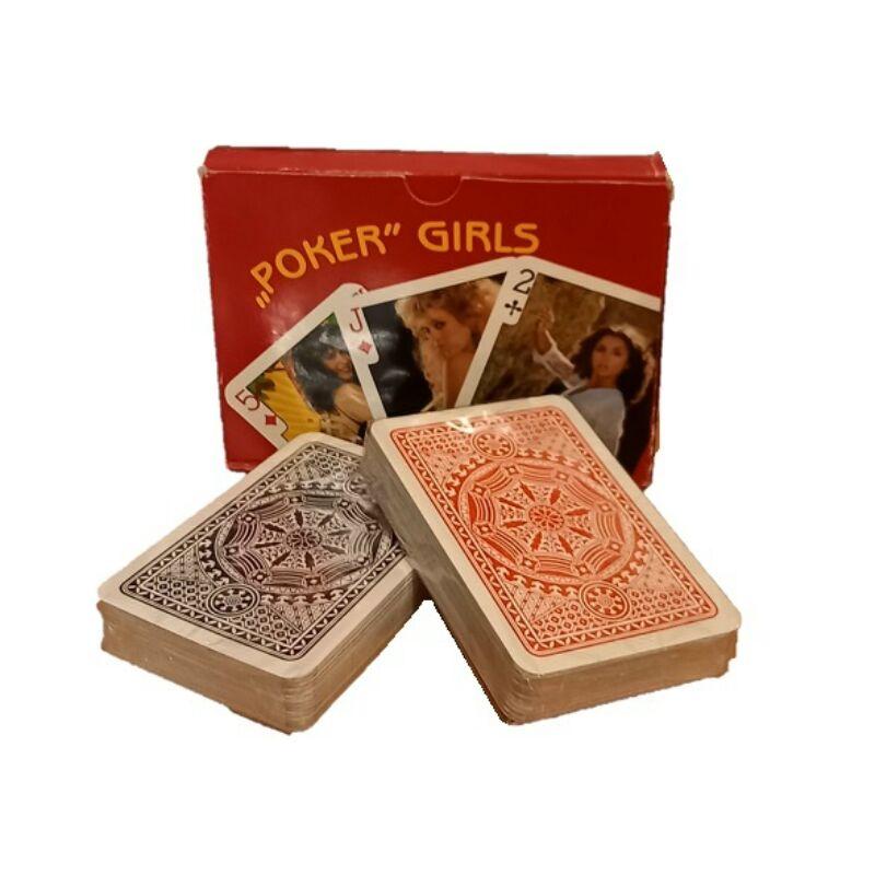 Poker Girls - akt képes francia kártya 2x55 lap