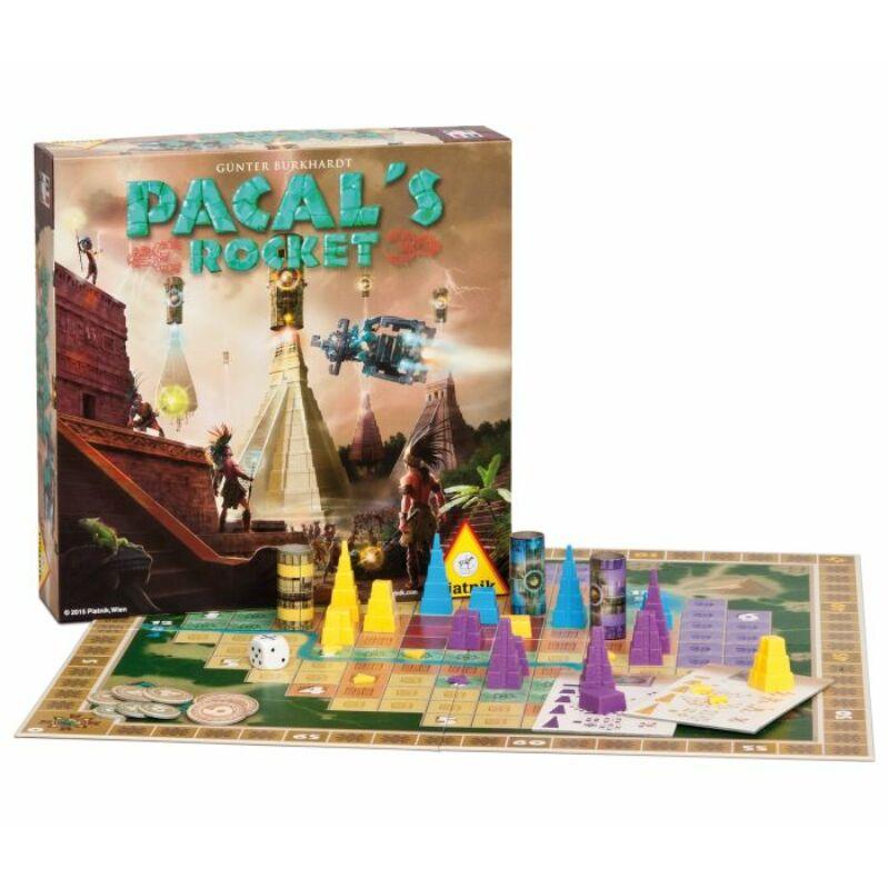 Pacal's Rocket társasjáték
