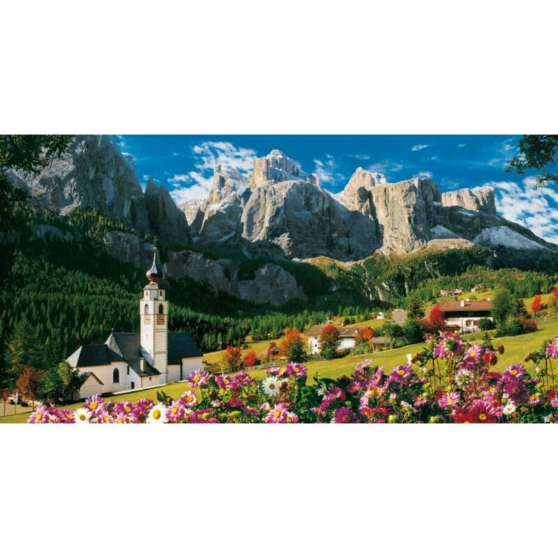 Clementoni 13200 db-os puzzle - Sella, Dolomitok