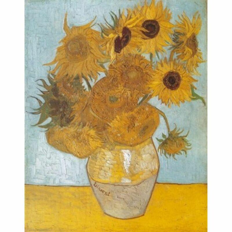 Van Gogh - Napraforgók 1000 db-os puzzle - Clementoni