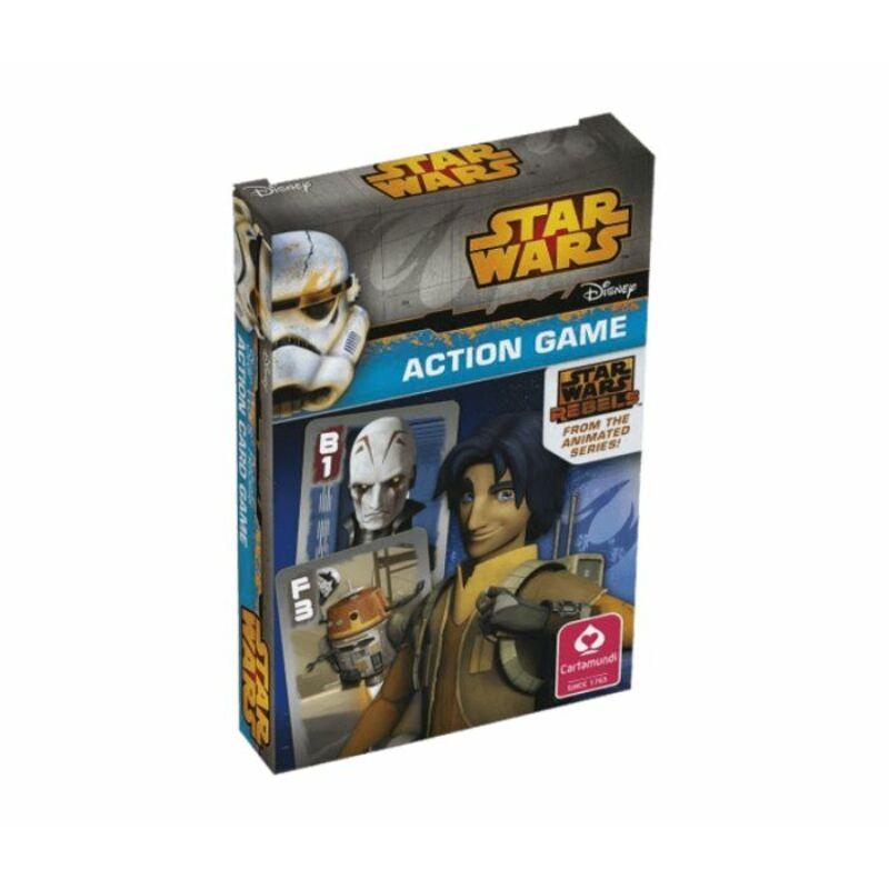 Star Wars Fekete Péter és memória kártya