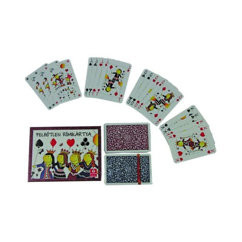 Felhőtlen dupla römi kártya