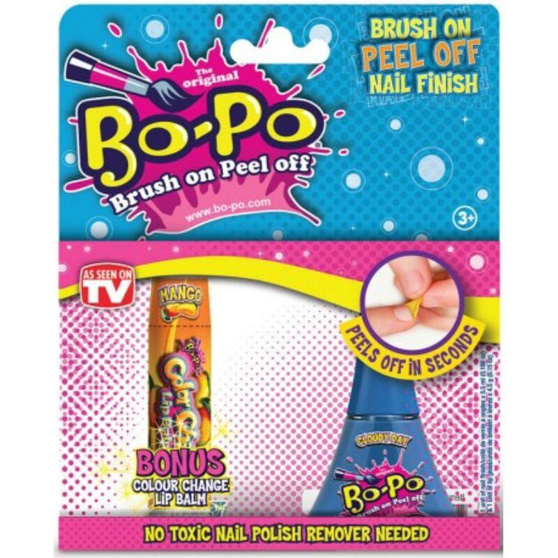 Bo-Po körömlakk illatos szájfénnyel