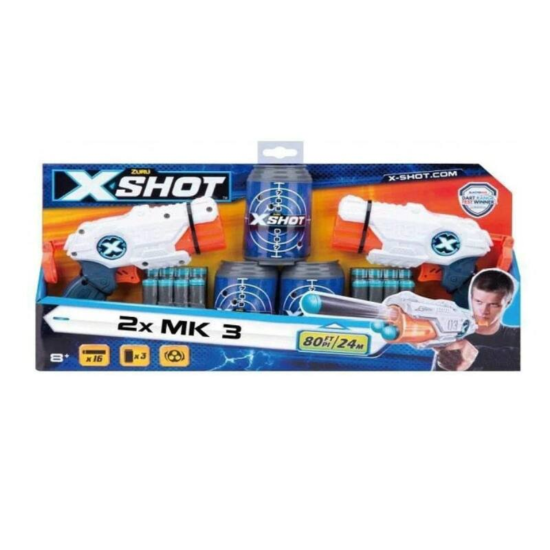 X-Shot Barrel breaker combo szivacslövő játékpisztoly szett