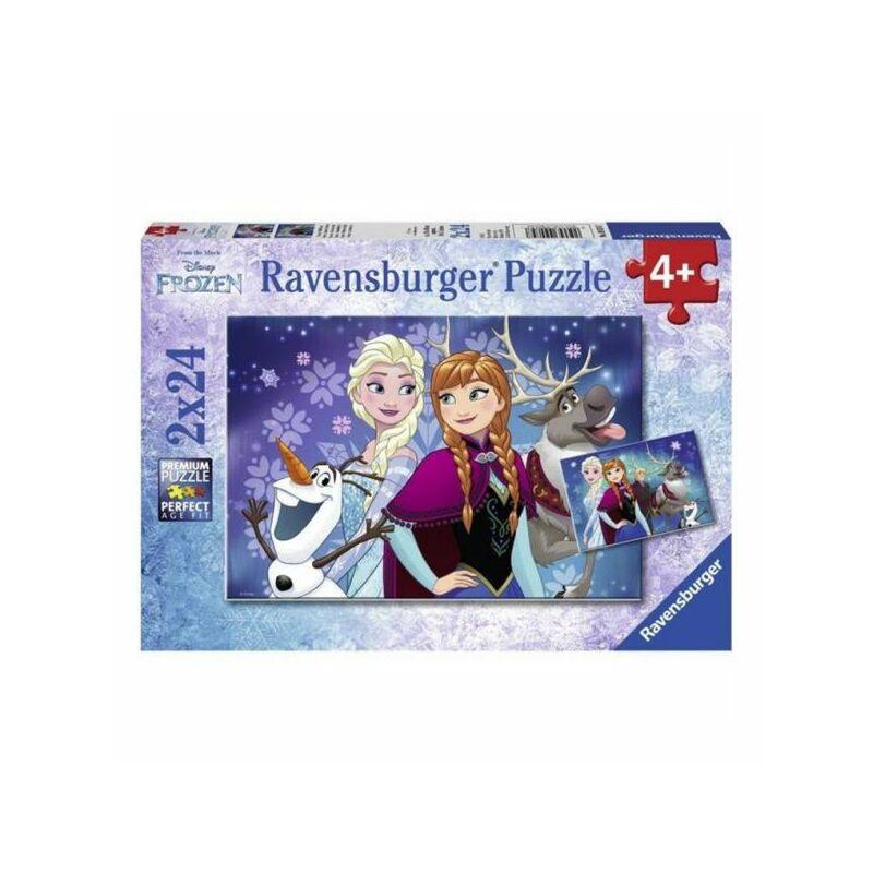 Jégvarázs északi fény puzzle 2x24 db - Ravensburger