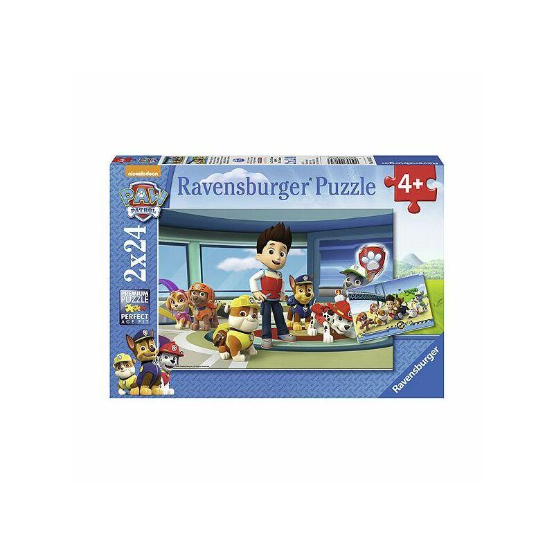 Ravensburger Mancs őrjárat jó szimat puzzle 2x24 db