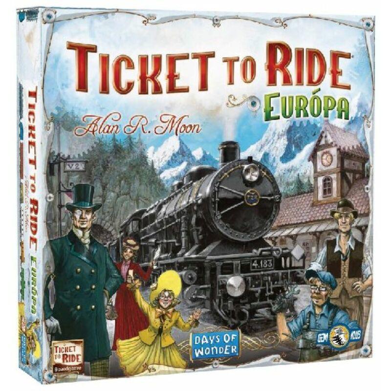 Ticket to Ride: Európa társasjáték