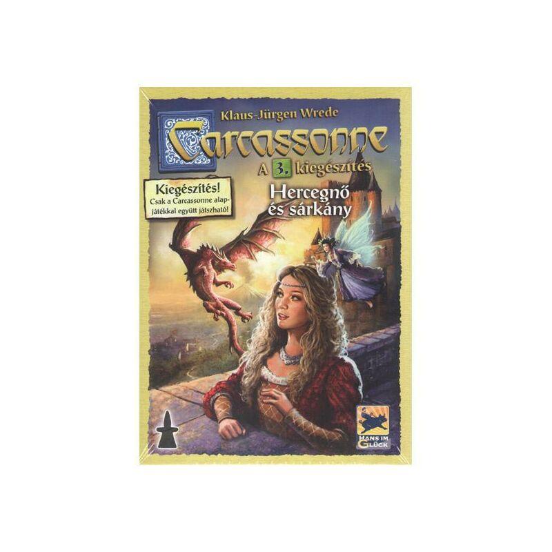 Carcassonne 3. kiegészítő - A hercegnők és a sárkány társasjáték