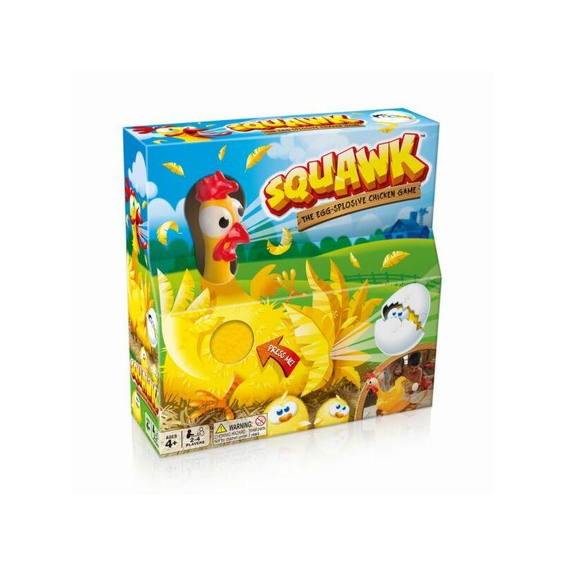 Squawk Kirobbanó tojástojó társasjáték