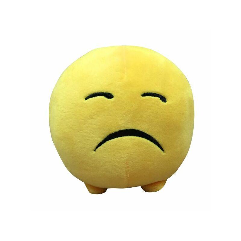 Imoji plüss labda 11 cm - szomorú