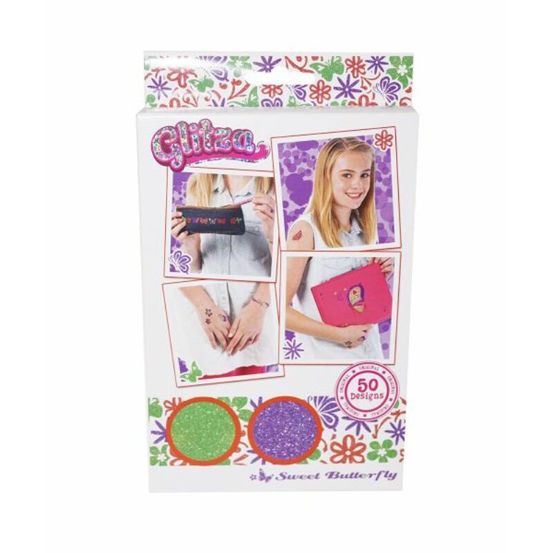Glitza Fashion Csillámtetkó - Pillangók 50 féle minta