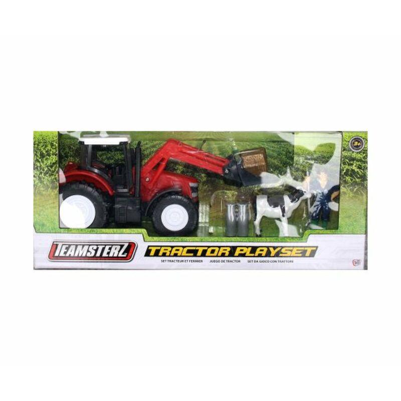 Teamsterz traktor játékkészlet