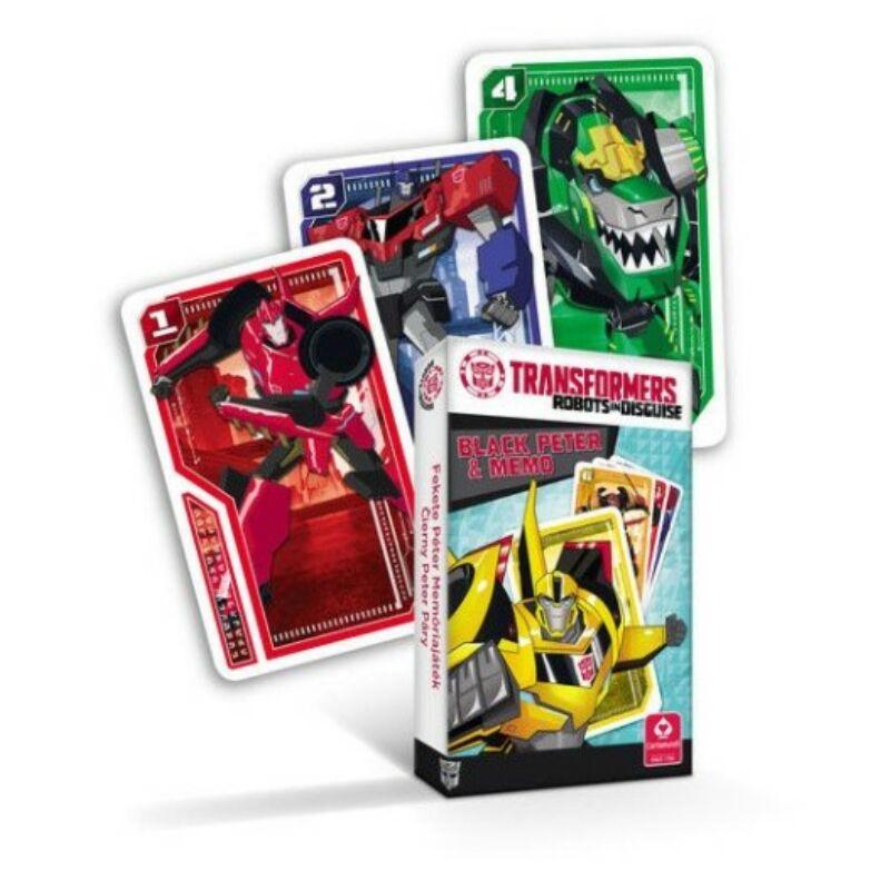 Transformers mini Fekete Péter és memória kártya
