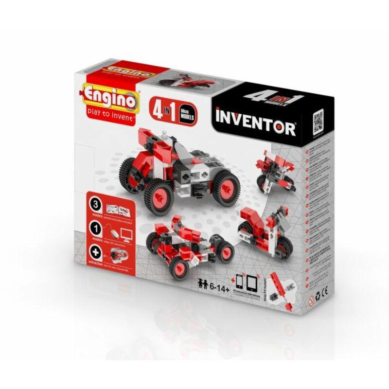Engino Inventor 4 az 1-ben építőjáték - Motorok