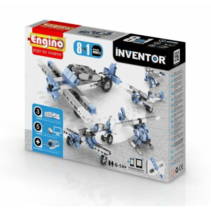 Engino Inventor 8 az 1-ben építőjáték - Légi járművek