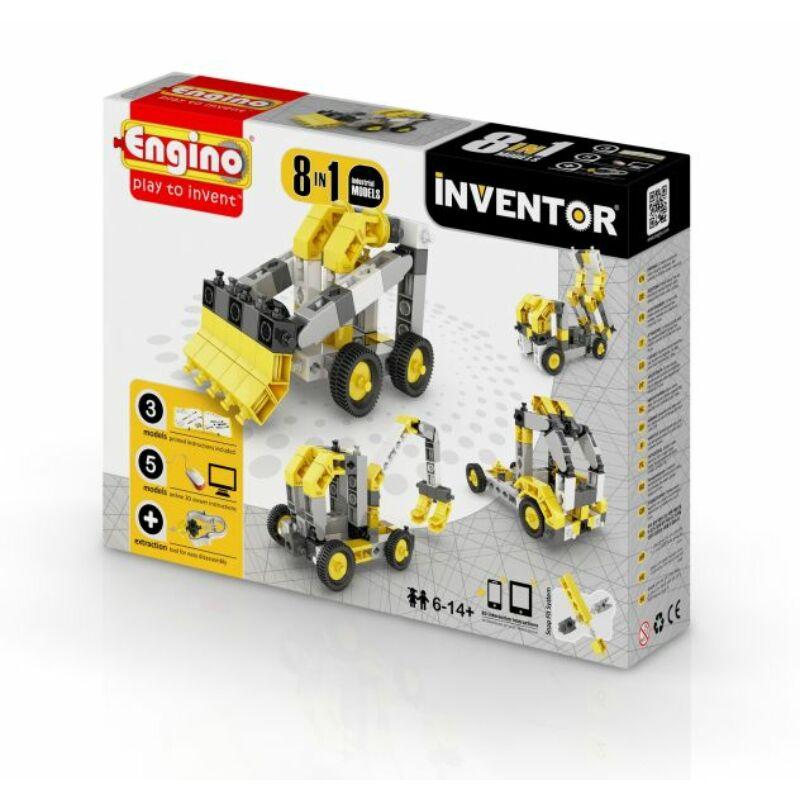 Engino Inventor 8 az 1-ben építőjáték - Ipari járművek