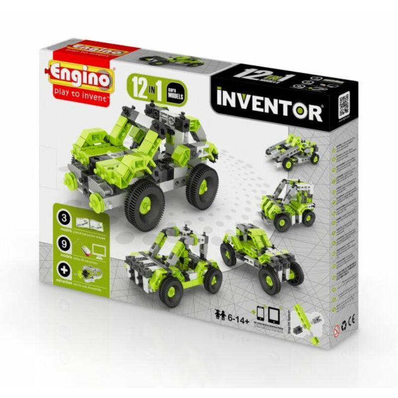 Engino Inventor 12 az 1-ben építőjáték - Autók