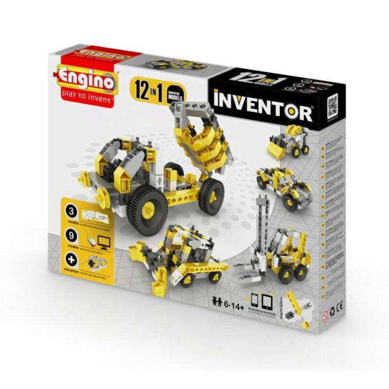 Engino Inventor 12 az 1-ben építőjáték - Ipari járművek
