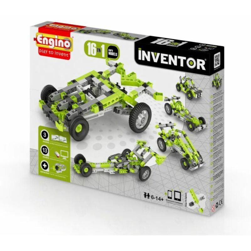 Engino Inventor 16 az 1-ben építőjáték - Autók