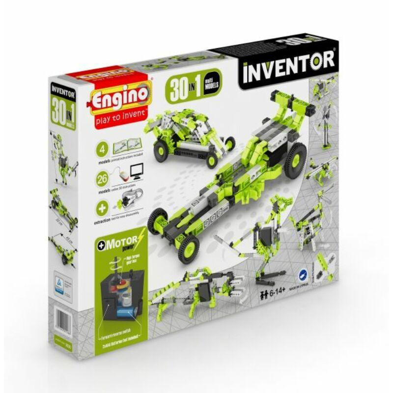 Engino Inventor 30 az 1-ben építőjáték - Motorizált multi modellek