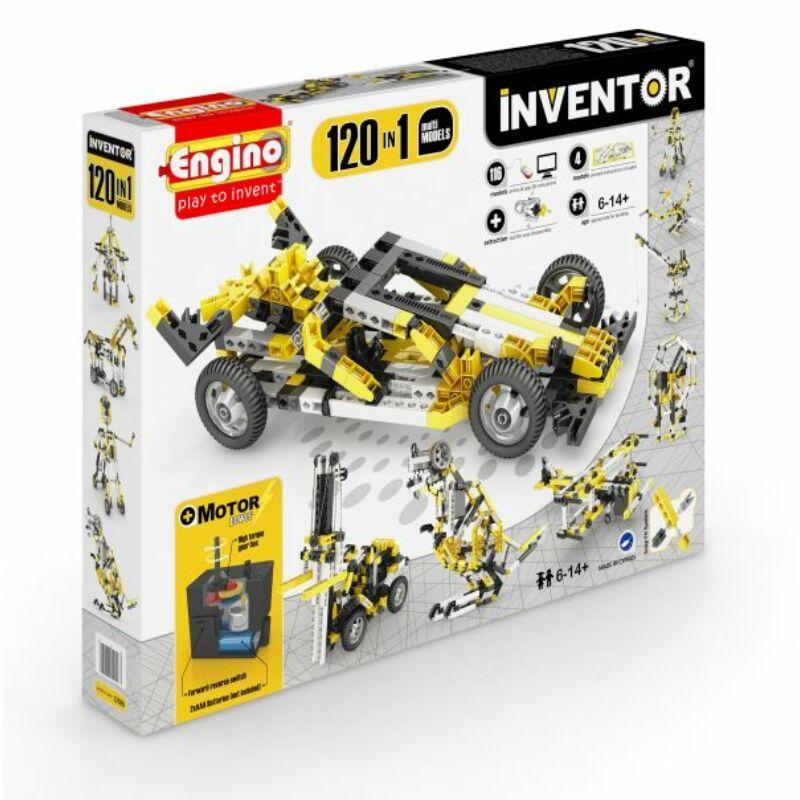 Engino Inventor 120 az 1-ben építőjáték - Motorizált multi modellek