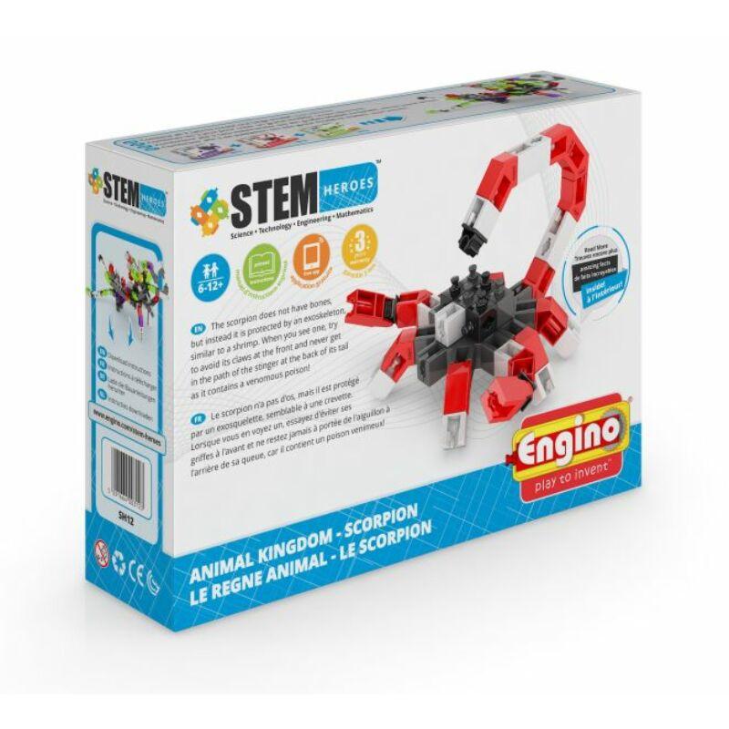 Engino Stem Heroes Állatvilág - Skorpió építőjáték