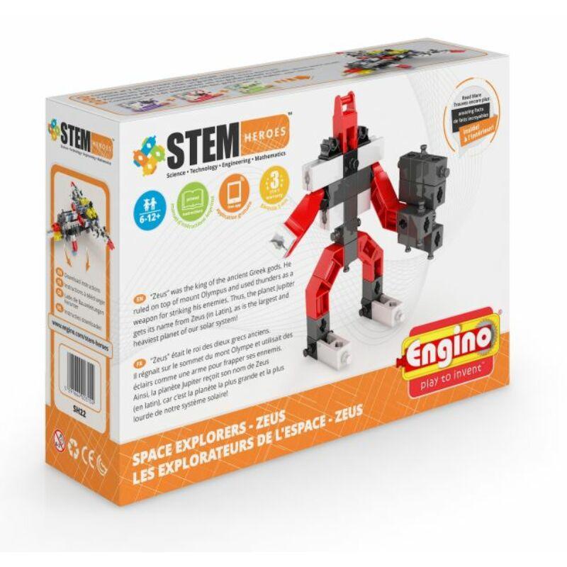 Engino Stem Heroes Űrkutatás - Zues építőjáték