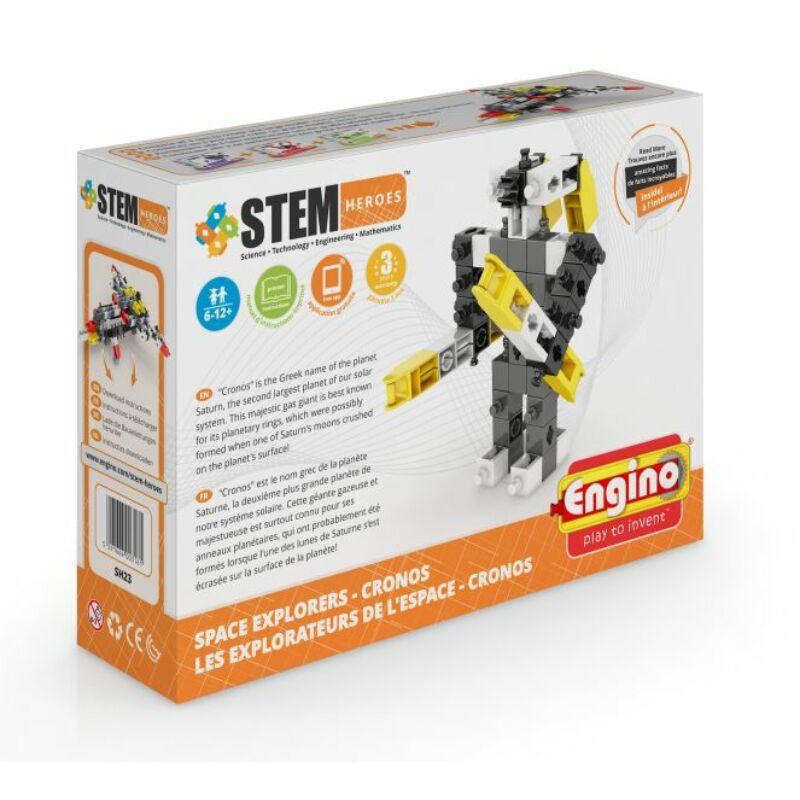 Engino Stem Heroes Űrkutatás - Cronos építőjáték