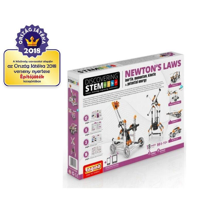 Engino Discovering Stem Newton törvényei építőjáték