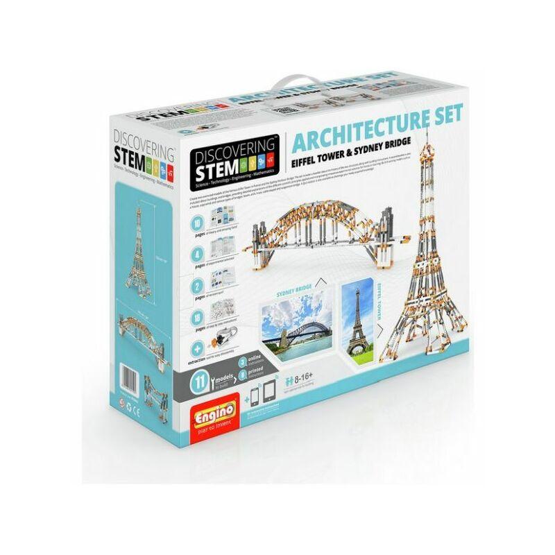 Engino Discovering Stem építőjáték - Építészet
