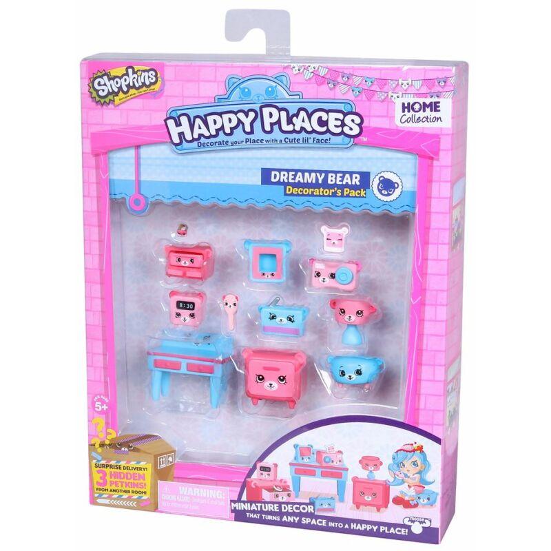 Happy Places Dekoráló szett - Dreamy Bear