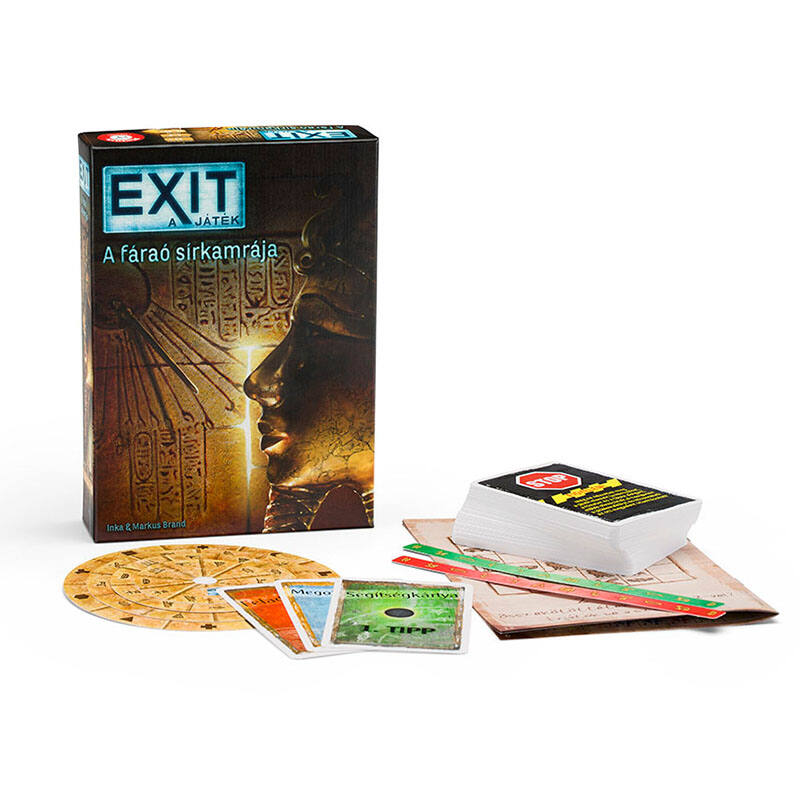EXIT 3. - A fáraó sírkamrája társasjáték