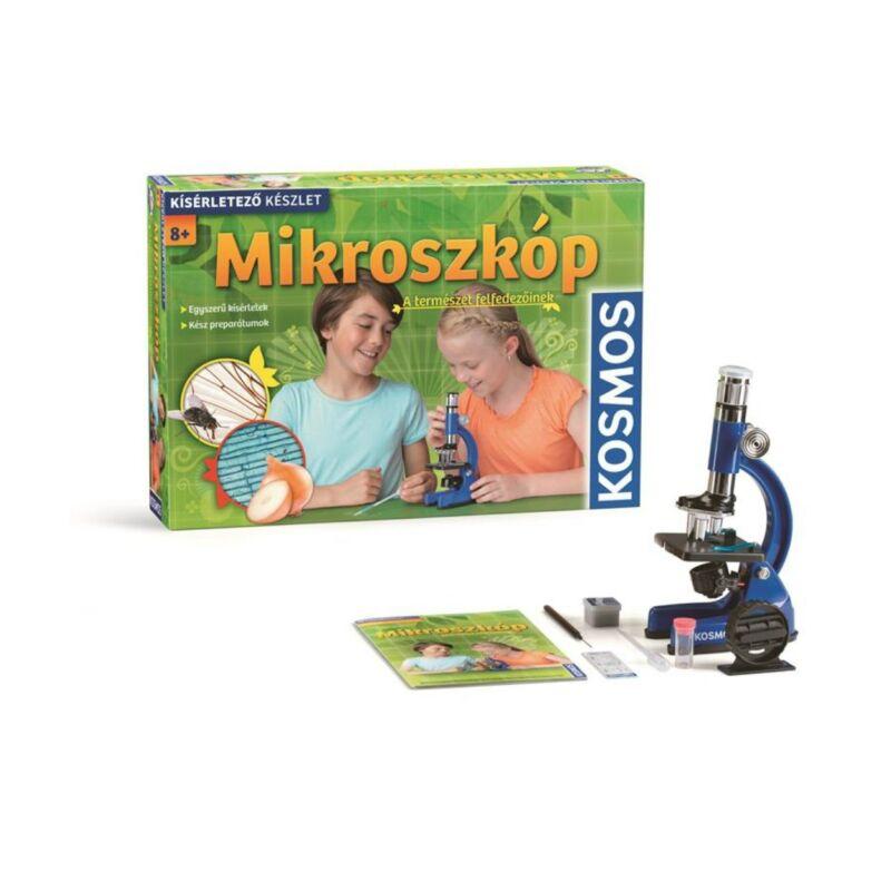 Mikroszkópos kísérletező készlet