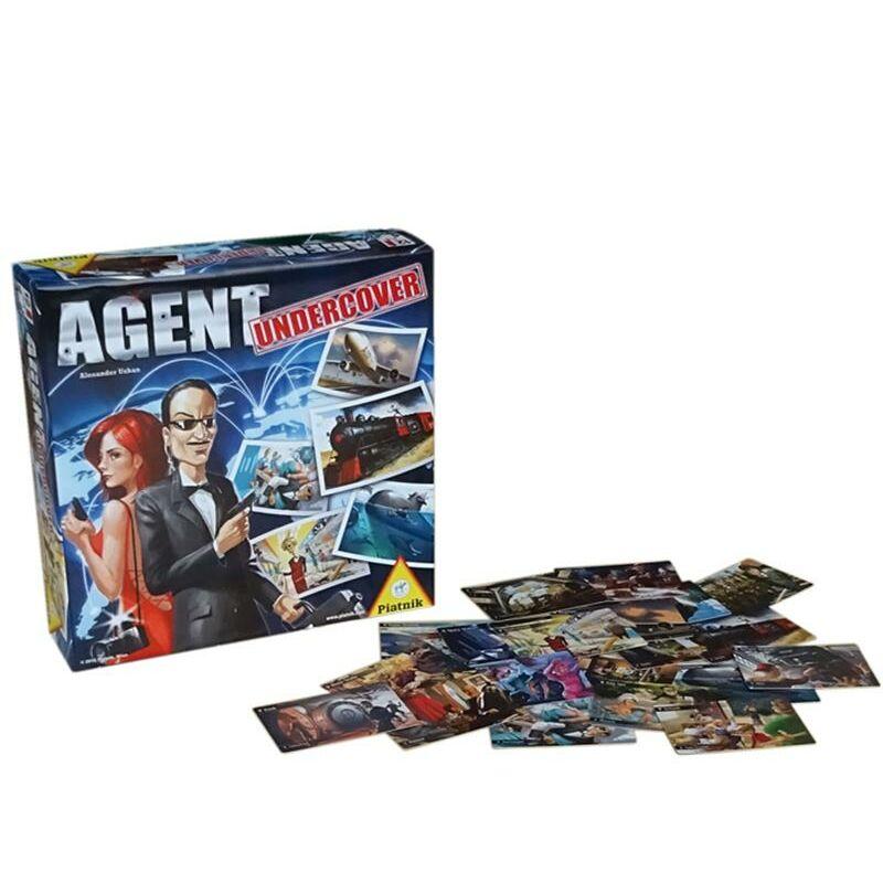 Titkos ügynök társasjáték - Agent Undercover