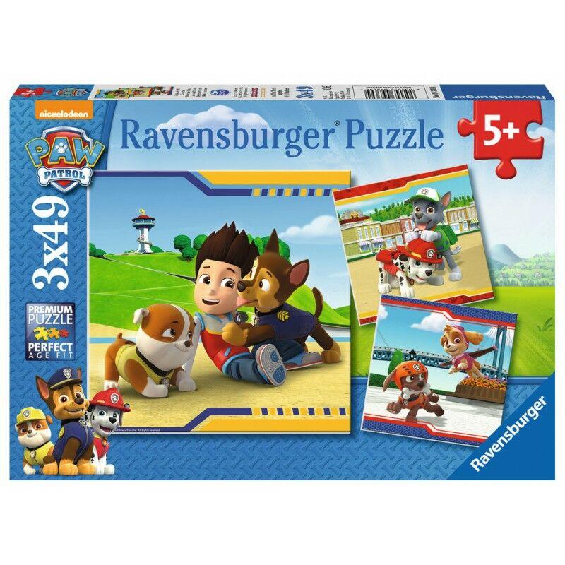 Mancs Őrjárat 3x49 puzzle - Ravensburger