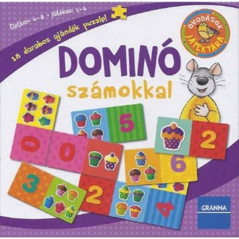 Granna Dominó számokkal társasjáték