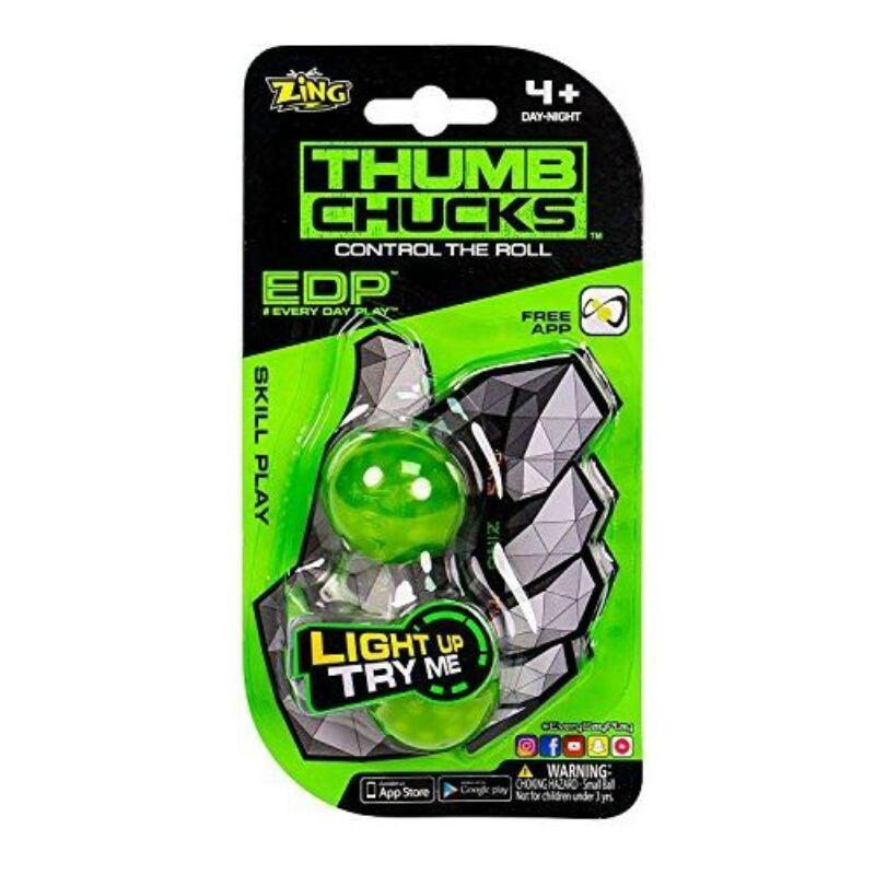 Thumb chucks - világító Tiki-Taki