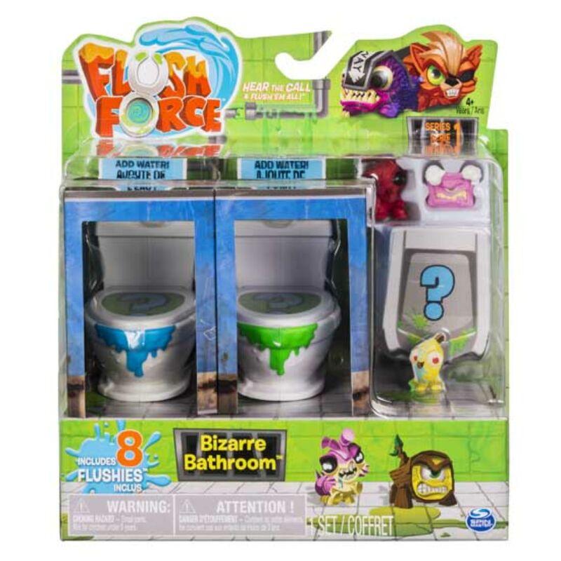Flush Force - klotyószörnyek Bűzös WC