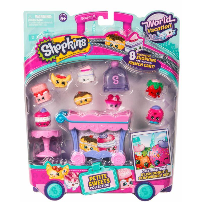 Shopkins S8 Tematikus szett - Petite Sweets