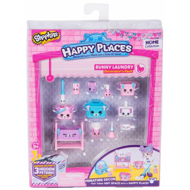Happy Places Dekoráló szett S2 - Bunny Laundry