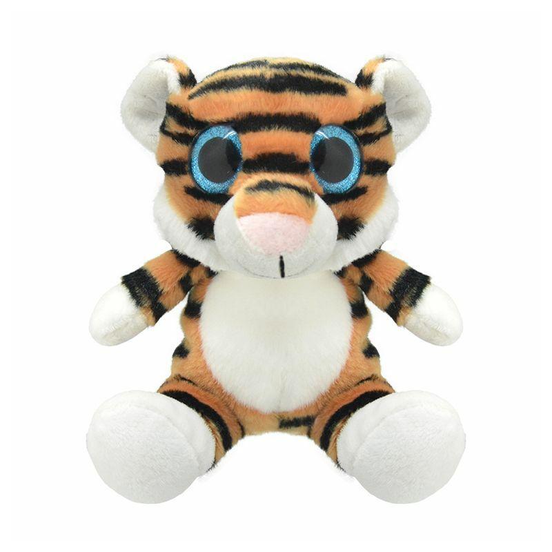 Wild Planet Tigris plüss 15-20 cm