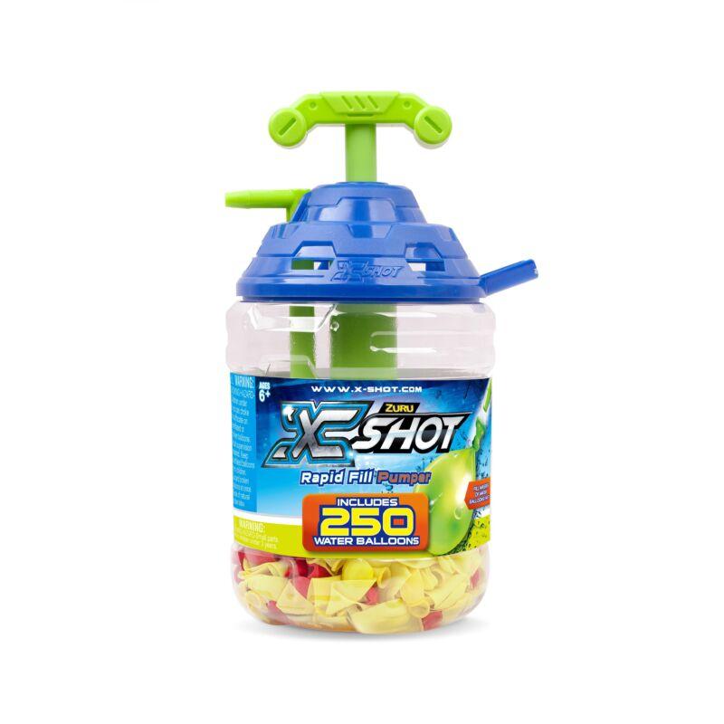 X-Shot pumpás vízi bomba szett 250 db-os