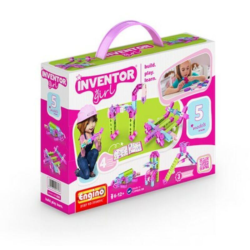 Engino Inventor Girl 5 az 1-ben építőjáték