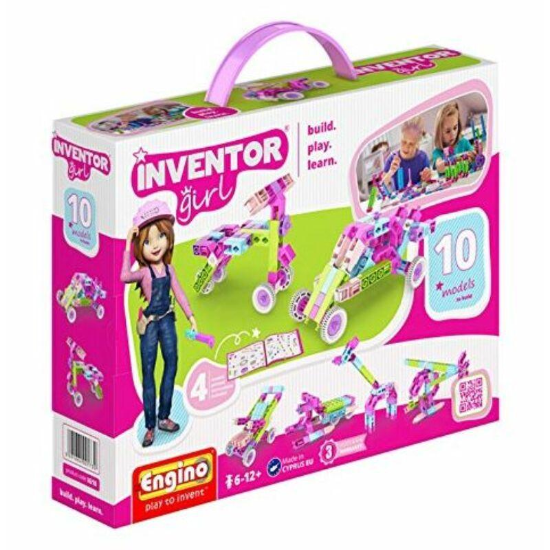 Engino Inventor Girl 10 az 1-ben építőjáték