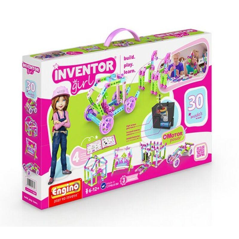 Engino Inventor Girl 30 az 1-ben motorizált építőjáték